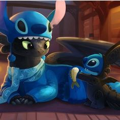 Toothless and Stitch Cartoon Wallpaper Iphone, Cute Disney Wallpaper, Cute Cartoon Wallpapers, Disney Stitch, Disney Kunst, Disney Art, Toothless Wallpaper, Disney Mignon, Toothless And Stitch