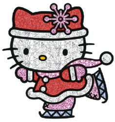 animated hello kitty | Hello Kitty Glitter