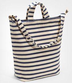Baggu Striped Tote Bag