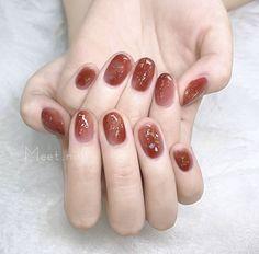 Pin on Nail Asian Nail Art, Asian Nails, Korean Nail Art, Korean Nails, Nail Swag, Minimalist Nails, Soft Nails, Pink Nails, Cute Nails