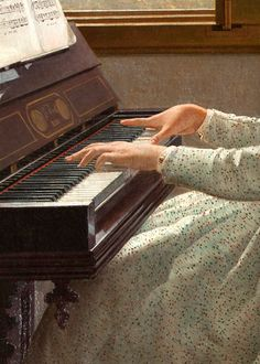 l canto di uno stornello by Silvestro Lega, 1868 (detail) music piano Music Aesthetic, Aesthetic Vintage, Angel Aesthetic, Aesthetic Painting, Piano Art, Sufjan Stevens, Princess Aesthetic, Classical Art, Past Life