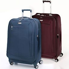 """Every detail and feature of the Samsonite Silhouette 11 29"""" upright spinner luggage is designed with the challenge of today's travel in mind."""