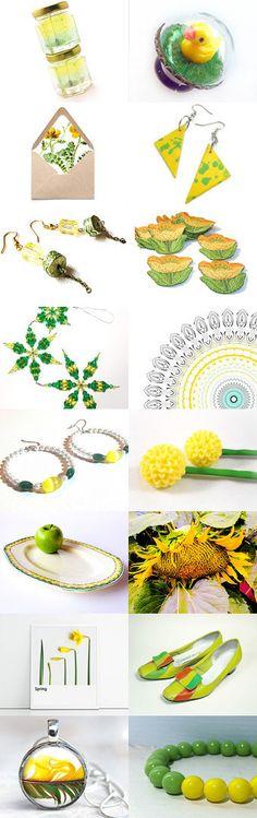 ♥ Lemon Lime ♥ by Gabbie on Etsy