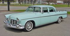 1956 Imperial Custom 4 Door Sedan: Drivers Side Front View