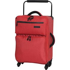 it luggage Worlds Lightest Tritex 4 Wheel Spinner Carryon Red Clay -- This is an Amazon Affiliate link. Check this awesome product by going to the link at the image.