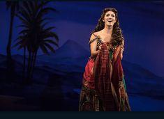 Eva Tavares in Phantom National Tour. From phantomtour instagram