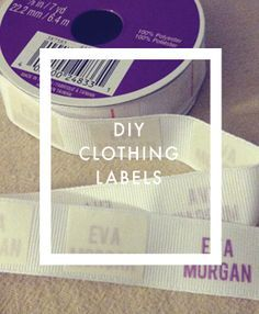 300 clothing labels for $20 | Label for, Make your own and Clothing