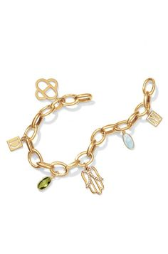Don't leave home without your Stella & Dot charm bracelet.