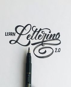50 Inspiring Examples of Hand-lettering - Learn Lettering 2.0 - SeanWes
