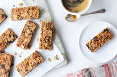Packed with oats, seeds & fruit, these healthy flapjacks are the ultimate healthy snack. Head to Tesco Real Food for more snack ideas & healthy recipes.