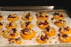 sweet potato and blue cheese coins - oven