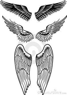 tattoos de asas nas costas