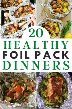 Improve your dinner time meals with these mess free foil pack dinner recipes. Foil pack dinners are ideal for when you don't have time to cook. Healthy Recipes For Weight Loss, Clean Eating Recipes, Lunch Recipes, Dinner Recipes, Healthy Weight, Foil Pack Dinners, Lunches And Dinners, Healthy Dinners, Oven Baked Salmon