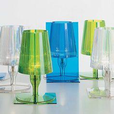 Lampade da tavolo: Lampada Bourgie Multicolor da Kartell   scale ...