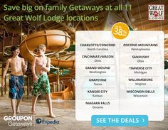 Great Wolf Lodge up to 38% off!