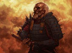 Daigotsu Veteran by *reau on deviantART  council member (original)