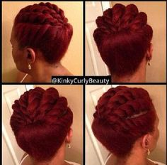 So simple yet so pretty @kinkycurlybeauty http://blackhair.cc/1mB768X