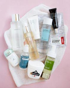 10-Step Korean Skincare Routine Set (Combination Skin Type) #SkinCleanserAcne #BestPeelOffMask Acne Skin, Oily Skin, Skin Toner, Skin Serum, Anti Aging Skin Care, Natural Skin Care, Natural Beauty, Korean 10 Step Skin Care, Combination Skin Care
