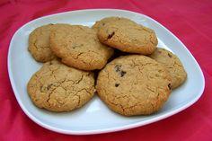Glutenvrije vegan rozijnenkoekjes, zonder ei, zonder melk