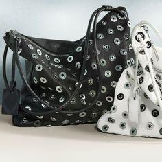 Burberry studded Brit bag. www.handbag.com