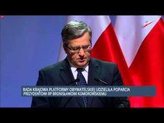 2015 02 06 Rada Krajowa Platformy Obywatelskiej udzieliła poparcia prezy...