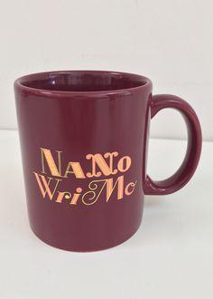 "NaNoWriMo 2015 ""Trusty Typewriter"" Mug | National Novel Writing Month Donation Station and Store National Novel Writing Month, Typewriter, Novels, Mugs, Tableware, Store, Dinnerware, Tumblers, Tablewares"