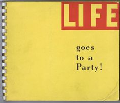 Antique Vintage Life Goes to Party Book 20s Prohibition Photos History Alcohol