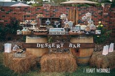 Rustic/backyard Wedding Party Ideas   Photo 1 of 9                                                                                                                                                                                 More