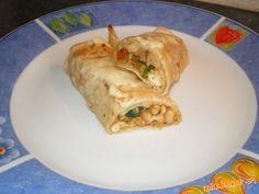 Mexické enchiladas s fazuľkami a kuracím maskom