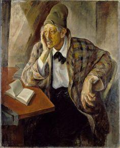 Ejnar Hansen, Portrait of Sadakichi Hartmann (before 1934)