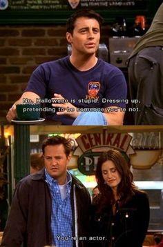 Why Joey hates Halloween.