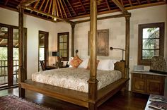 This is actually a bedroom from Bali Premium Villa. I love the interior, the furniture and everything in the photo.