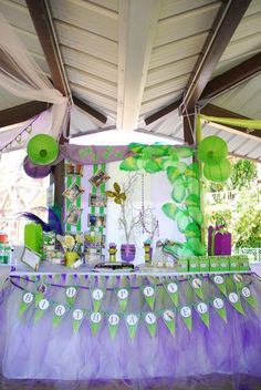 Tinkerbell party decorations