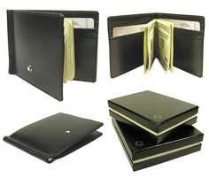 Mont Blanc wallet with Money Clip