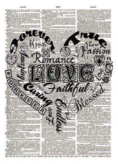 ✿⁀°• Dictionary Art °•‿✿