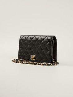 Chanel Vintage Small Quilted Shoulder Bag - Stefania Mode - Farfetch.com