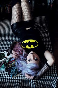 Batman Fangirl Photoshoot http://geekxgirls.com/article.php?ID=2300