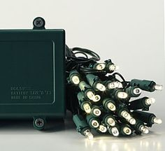 Check out the deal on Battery Operated Christmas Lights 100 Warm White LED Bulbs - Timer at Battery Operated Candles