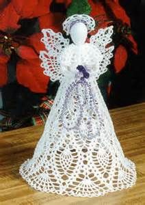 """Képtalálat a következőre: """"crochet angel ornament pattern free""""Pineapple Cascade Angel she would be a nifty tree topper.Collection of Crochet Angel FrBilledresultat for attys crochet christmas angelsImage detail for -treasured heirlooms croch Crochet Christmas Ornaments, Christmas Crochet Patterns, Holiday Crochet, Crochet Snowflakes, Christmas Angels, Christmas Crafts, Christmas Bells, Christmas Poinsettia, Christmas Tree"""