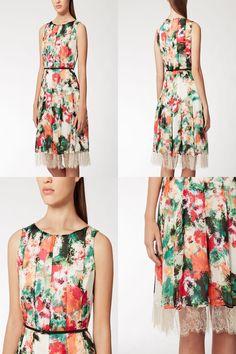 Abiti cerimonia Glamour ·  MaxMaraStudio  dress MATTINO ファッション 2015年春夏   newcollection15  fashion  shopping 774e70c2154