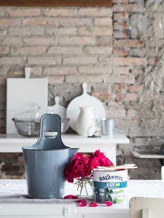 Prairie Charm: Ako oživiť smaltované a zinkové nádoby Flea Market Finds, French Farmhouse, Charmed, Blog, Vintage, Home Decor, French Country Farmhouse, Vintage Comics, Interior Design