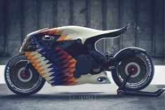 Discover recipes, home ideas, style inspiration and other ideas to try. Concept Motorcycles, Cool Motorcycles, Moto Bike, Motorcycle Bike, Motorbike Design, Futuristic Motorcycle, Bike Art, Super Bikes, Street Bikes