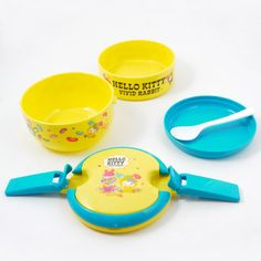 Hello Kitty Tiffin Lunch Box: Candy Yellow
