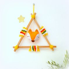 This item is unavailable - Woodland theme, woodland decor Woodland Animals Theme, Woodland Decor, Woodland Party, Felt Crafts, Diy And Crafts, Crafts For Kids, Indian Wall Decor, Dream Catcher Mobile, Felt Banner