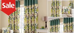 Teal Jakarta Curtain Collection