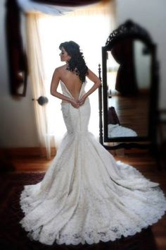 A happy bride looks great AND saves money on her wedding gown! If you're a bride on a budget click here to see inexpensive, yet beautiful, wedding gowns: http://www.outerinner.com/wedding-gowns-cg-13.html #OuterInner #WeddingGowns