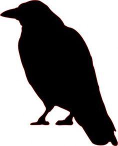Animals Outline Silhouette Cartoon Birds Bird Crow Flying Animal Crows vector, free vector images - Vector.us:
