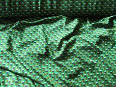 Stoff grafische Muster - Stoff, Jersey,aus Italien, Grün,Stoffe,Stoffe uni - ein Designerstück von rote-tulpe bei DaWanda