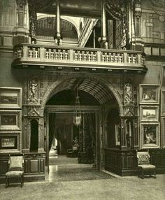 William H. Vanderbilt Mansion gallery main entrance