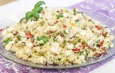 Couscous on kiitollinen säilytettävä. Se pysyy kauniina ja hyvänmakuisena, vaikka salaatin valmistaisi jo edellisenä päivänä. Couscous on lisäksi n...